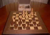 No A107 Combo. Sheesham Chess Set with Board and Chest