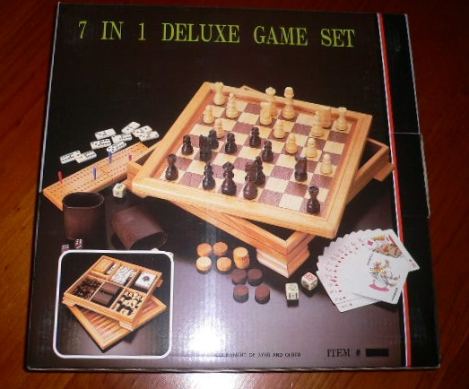 Seven in One Combination Game Set