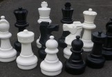 No 2567 Giant Chess Set. 640mm King