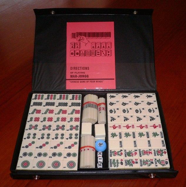 no 3012j mahjong set with counting sticks