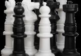 Garden Chess Set 900mm King